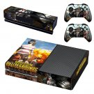 Playerunknown's Battlegrounds decal skin sticker for Xbox One console and controllers