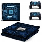 Motherboard decal skin sticker for PS4 console and controllers