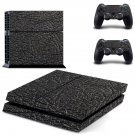 Leather cover decal skin sticker for PS4 console and controllers