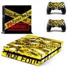Disconnected decal skin sticker for PS4 console and controllers