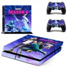 Fortnite decal skin sticker for PS4 console and controllers