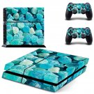 Crystal Rocks decal skin sticker for PS4 console and controllers