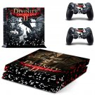 Divinity original sin 2 decal skin sticker for PS4 console and controllers