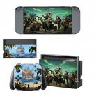 Sea of Thieves decal skin sticker for Nintendo Switch console and controllers