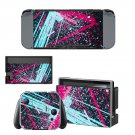 Abstraction decal skin sticker for Nintendo Switch console and controllers