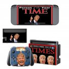 Donald Trump decal skin sticker for Nintendo Switch console and controllers