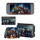Avengers aga of ultron decal skin sticker for Nintendo Switch console and controllers