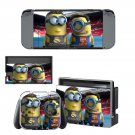 Minions decal skin sticker for Nintendo Switch console and controllers