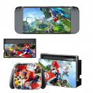 Super Mario Bros decal skin sticker for Nintendo Switch console and controllers