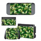 Camouflage decal skin sticker for Nintendo Switch console and controllers
