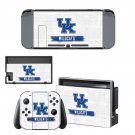 Kentucky Wildcats decal skin sticker for Nintendo Switch console and controllers