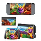 Spyro decal skin sticker for Nintendo Switch console and controllers