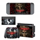 Divinity original sin 2 decal skin sticker for Nintendo Switch console and controllers