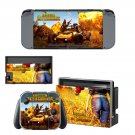 Playerunknown's Battlegrounds decal skin sticker for Nintendo Switch console and controllers