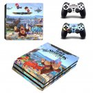 Super Smash Bros decal skin sticker for PS4 Pro console and controllers