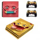 Emoticon decal skin sticker for PS4 Pro console and controllers