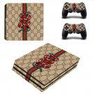 Snake anime decal skin sticker for PS4 Pro console and controllers