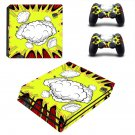 Abstract Retro Burst decal skin sticker for PS4 Pro console and controllers