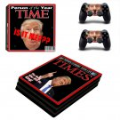 Donald Trump decal skin sticker for PS4 Pro console and controllers