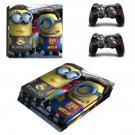 Minions decal skin sticker for PS4 Pro console and controllers