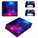 Space Scene decal skin sticker for PS4 Pro console and controllers