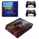 Fortnite stream overlay decal skin sticker for PS4 Pro console and controllers