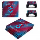 Trabzonspor FC decal skin sticker for PS4 Pro console and controllers
