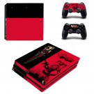 Harley Quinn decal skin sticker for PS4 Pro console and controllers