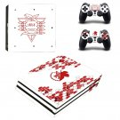NERV decal skin sticker for PS4 Pro console and controllers
