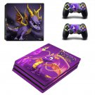 Spyro decal skin sticker for PS4 Pro console and controllers
