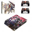 Soulcalibur 6 decal skin sticker for PS4 Pro console and controllers