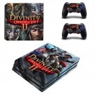 Divinity Original Sin 2 decal skin sticker for PS4 Pro console and controllers