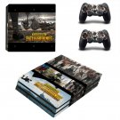 Playerunknown's Battlegrounds decal skin sticker for PS4 Pro console and controllers