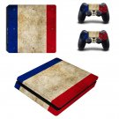 Blurry Colors decal skin sticker for PS4 Slim console and controllers