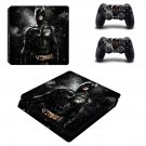 Batman decal skin sticker for PS4 Slim console and controllers