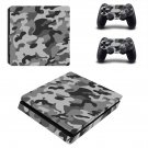 Camouflage decal skin sticker for PS4 Slim console and controllers
