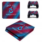 Trabzonspor FC decal skin sticker for PS4 Slim console and controllers