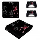 Jordan 23 decal skin sticker for PS4 Slim console and controllers