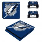 Tampa Bay decal skin sticker for PS4 Slim console and controllers