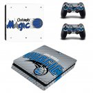 Orlando Magic decal skin sticker for PS4 Slim console and controllers