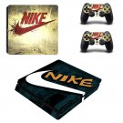 Nike decal skin sticker for PS4 Slim console and controllers