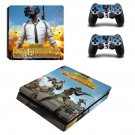 Jaya France Battlegrounds decal skin sticker for PS4 Slim console and controllers