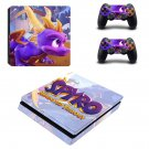 Spyro decal skin sticker for PS4 Slim console and controllers