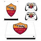 AS Roma decal skin sticker for Xbox One X console and controllers