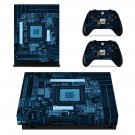 Motherboard decal skin sticker for Xbox One X console and controllers