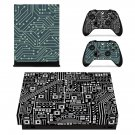 PCB Board decal skin sticker for Xbox One X console and controllers