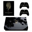 Final Fantasy 15 decal skin sticker for Xbox One X console and controllers