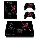 Jordan 23 decal skin sticker for Xbox One X console and controllers