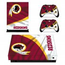 The Washington Redskins decal skin sticker for Xbox One X console and controllers