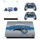 Orlando Magic decal skin sticker for Xbox One X console and controllers